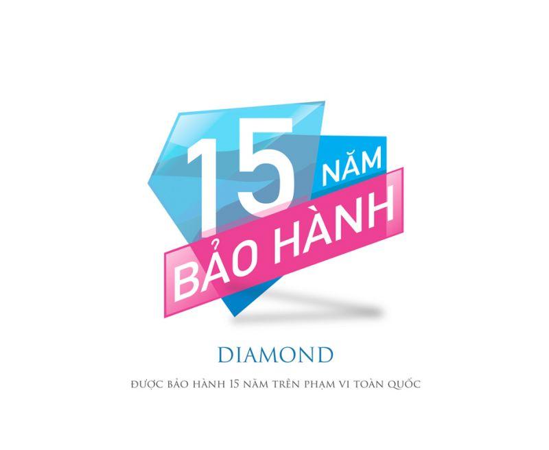 Nệm lò xo túi Diamond Vạn Thành-4