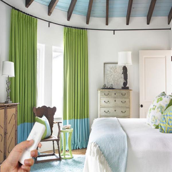 Rèm Cửa Tự Động Phòng Ngủ