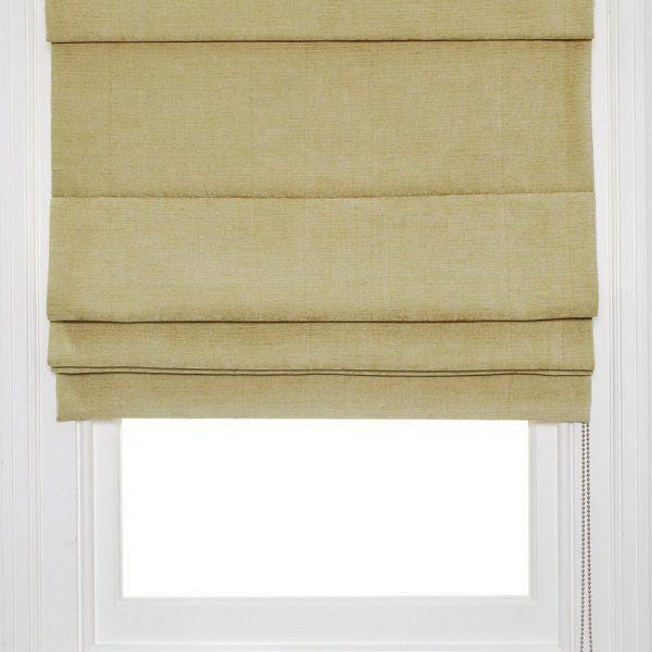 Rèm roman cửa sổ màu nâu